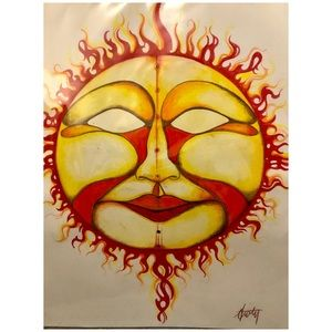 Sunburst by Artist Anthony Burks Sr